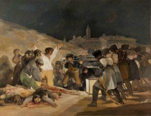 Goya 3 Mayıs Katliamı Tablosu - Prado Müzesi