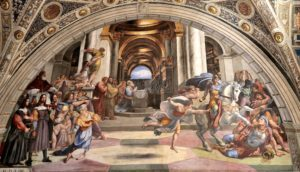 Heliodorus'un Tanrı'nın Tapınağından Kovulması Eseri.
