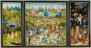 Hieronymus Bosch - Prado Muzesi - Dunyevi Zevkler Bahcesi