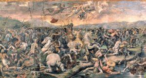 Konstantin Maxentius Savaşı - Konstantin Salonu - Raphael Odaları