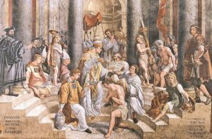 Konstantin'in Vaftiz Olması - Konstantin Salonu