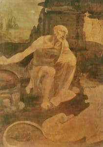 Leonardo Da Vinci - Vahşi Doğada Aziz Jerome - Vatikan Müzesi