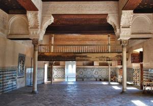 Masvar Odası - Nasri Hanedanlığı Sarayı.