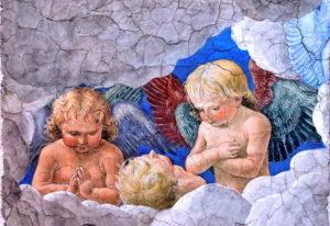 Melozzo da Forlì'nin 1480 yılına tarihlenen freskleri - Vatikan Resim Galerisi