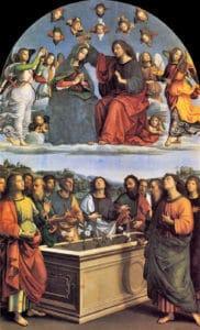 Meryem'in Taçlandırılması - Pinocoteca - Vatikan Müzesi