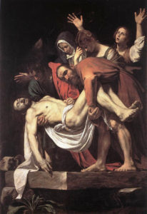 Mesih'in Haçtan İndirilişi - Caravaggio - Pinocoteca