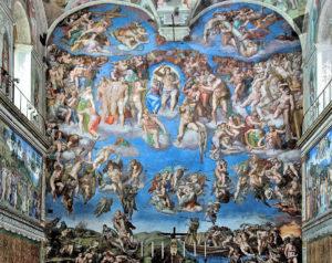 Michelangelo - Son Yargı - Sistina Şapeli