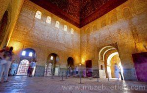 Nasri Sarayı içinden kareler - El Hamra Sarayı