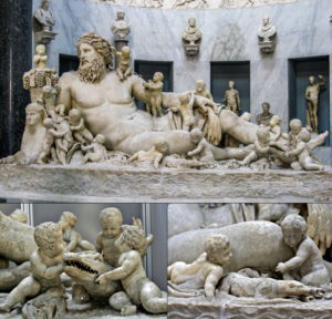 Nil Tanrısı Heykeli - Vatikan Müzesi