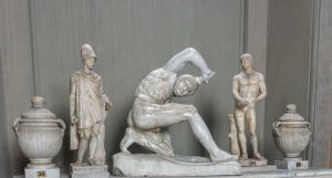 Persli Savaşçı Heykeli - Candelabra Galerisi - Vatikan Müzesi
