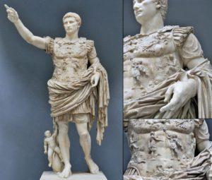 Prima Portalı Augustus heykeli Vatikan Müzesi