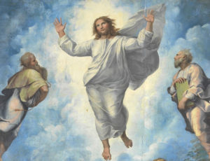 Raphael - Başkalaşım eseri - detay - Vatikan Müzesi