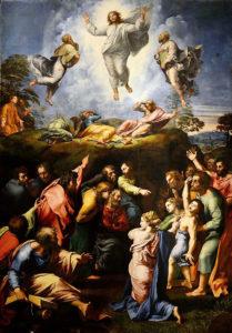 Raphael'in Başkalaşım eseri - Genel Görünüm