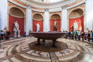 Sala Rotunda - Yuvarlak Oda - Pio Clementino Müzesi