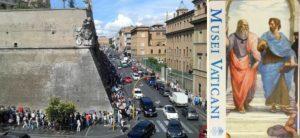 Vatikan Bileti Kuyruğu - Vatikan Müzesi