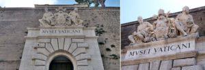 Vatikan Müzeleri Giriş Kapısı
