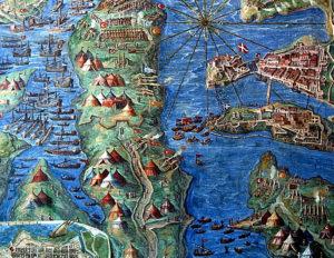 Vatikan Müzesi Haritalar Galerisi Osmanlı'nın Malta Kuşatması