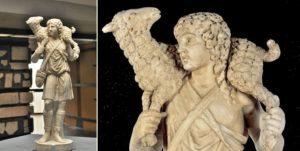 Vatikan'daki İyi Çoban heykeli