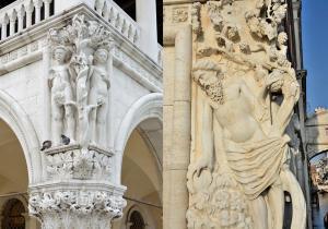 Adam ve Havva Heykeli ile Nuh Heykeli