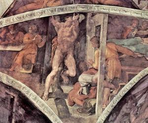 Haman'ın cezalandırılması