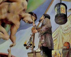 Michelangelo Adem'in Yaratılışı Freski'ni sadece dokuz günde tamamladı.