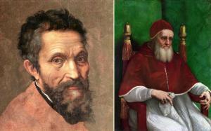 Michelangelo Buonarotti ve Papa İkinci Julius