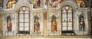 Sistina Şapeli - Papa Freskleri