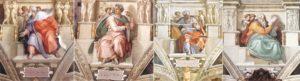 Sistina'daki Ezeikel, İşaya, Yoel ve Zekeriya Peygamberler