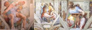 Sistina'daki Yunus - Yeremya ve Daniel Peygamberler