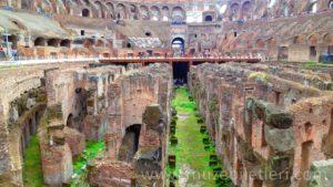 Kolezyum'un Yeraltı Yapısının bugünkü hali - Hypogeum